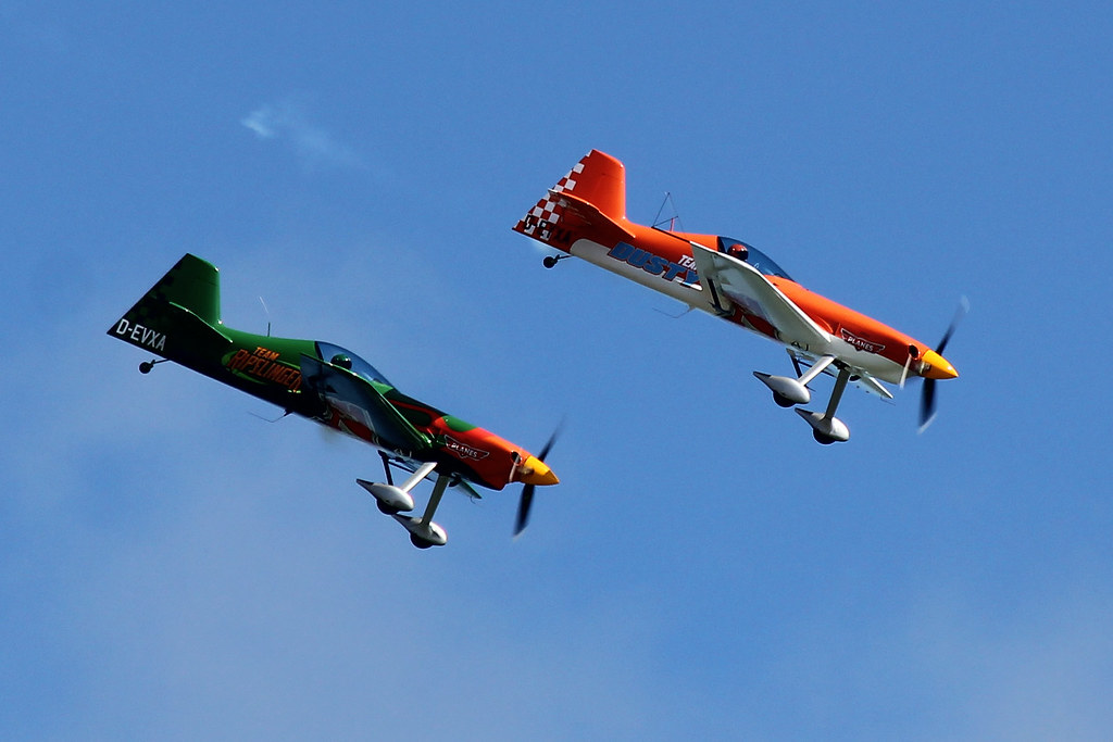 Red Bull Matadors Air Display Team as Dusty and Ripslinger