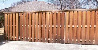 Shadow box fence | by buzzcustomfence