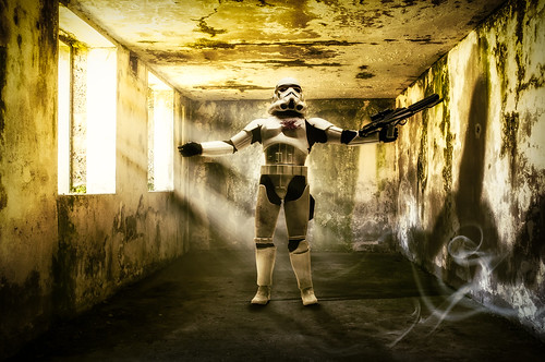 uk light composite starwars jersey stormtrooper 365 channelislands sthelier elizabethcastle project365 imperialstormtrooper colorefexpro niksoftware colorefexpro4