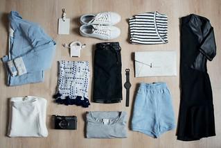 Capsule Travel Wardrobe | by apairandaspare