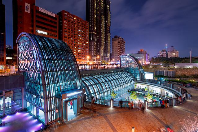 大安森林公園站  Daan Park MRT station (explored)