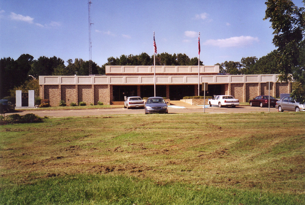 Montgomery County Court House---Winona, Ms  | Built 1976 and