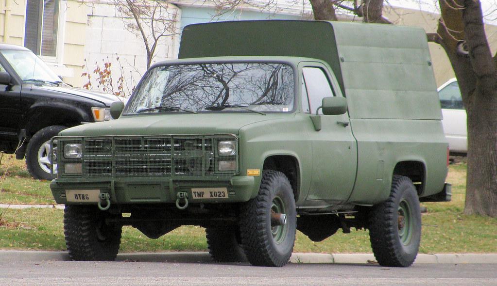 Chevy Military Truck | Eyellgeteven | Flickr