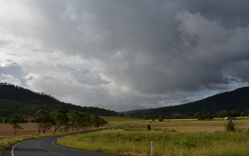 road clouds countryside day view cloudy australia valley nsw showers australianlandscape cloudscape ruralaustralia northernrivers rurallandscape richmondvalley summerlandway australianweather