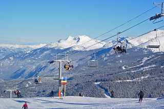 Ski Lifts at Whistler Blackcomb Ski Resort in Whistler, British Columbia, Canada. | by BCVacation