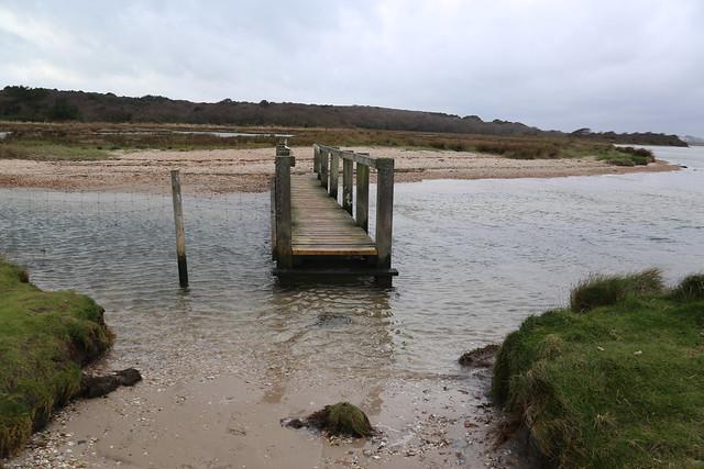 Bridge at Hengistbury Head