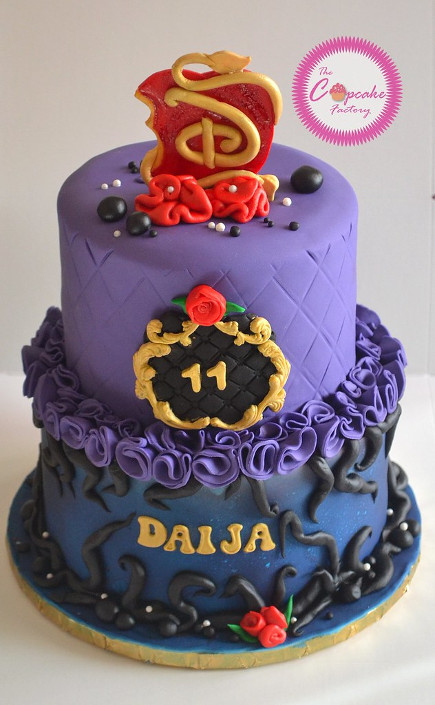 Disney Descendants Cake The Cupcake Factory Barbados