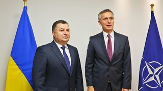 Ukraine's Minister of Defence Stepan Poltorak at Meeting of NATO-Ukraine Commission at the level of the ministers of defence, Brussels, June 14-15, 2016