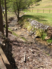 Dickerson Fork that runs into Lotts Creek in Knott County