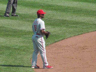 Jimmy Rollins at shortstop | by Estebomb