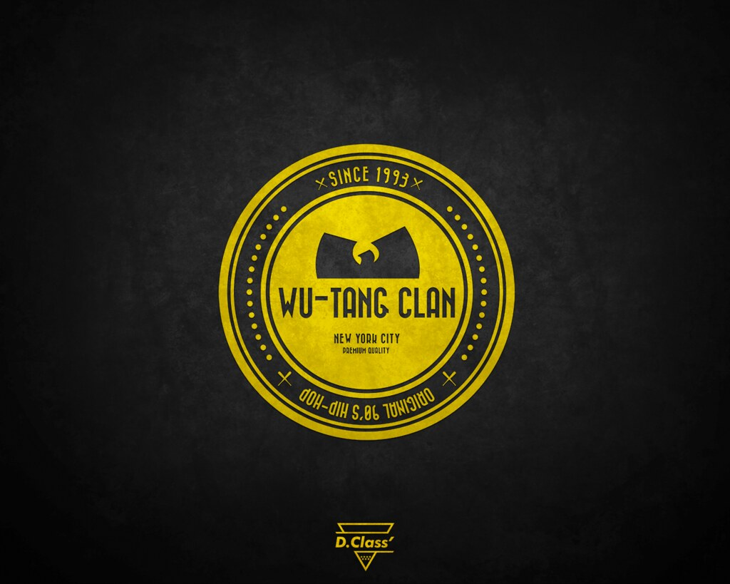 Wu Tang Wallpaper Artwork By At Davidclass Dclass Flickr
