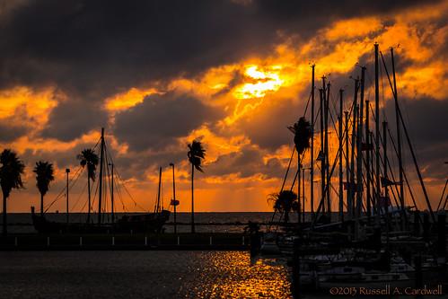 sea sky clouds sailboat marina sunrise canon dawn ship texas unitedstates corpuschristi shore godlight
