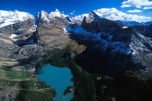 Lake OHara, Yoho National Park, Rocky Mountains, BC Rockies, British Columbia