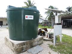 394:395 a - Community brackish water solar pump, Aiwo, Nauru