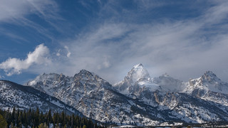 The Tetons in Winter - Wyoming | by petechar