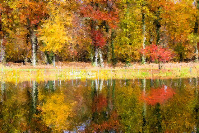 Painted Impressionist Park