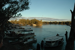Confluance of the Murray and Darling Rivers.
