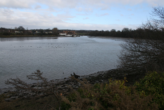 The Wallington river at Fareham