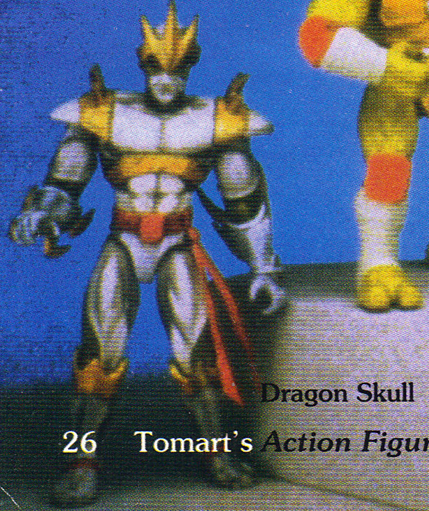 "Tomart's Action Figure Digest #xx :: pgs.26, 27 TOY FAIR '97, PLAYMATES ""NINJA TURTLES: THE NEXT MUTATION / ..early ""DRAGON SKULL"" the 'DRAGON LORD'   (( April 1997 )) by tOkKa"