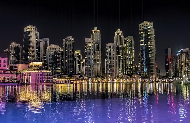 ...una sera a Dubai