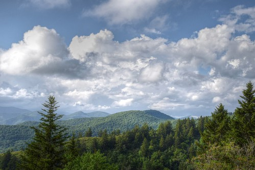 sky mountains clouds landscape nc north scenic carolina blueridgeparkway wnc brp