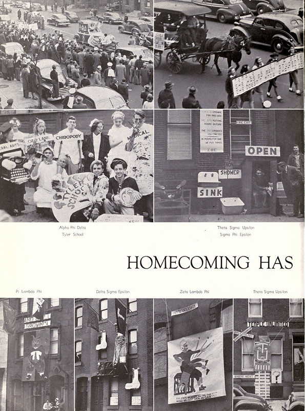 Temple Yearbooks - Pi Lambda Phi
