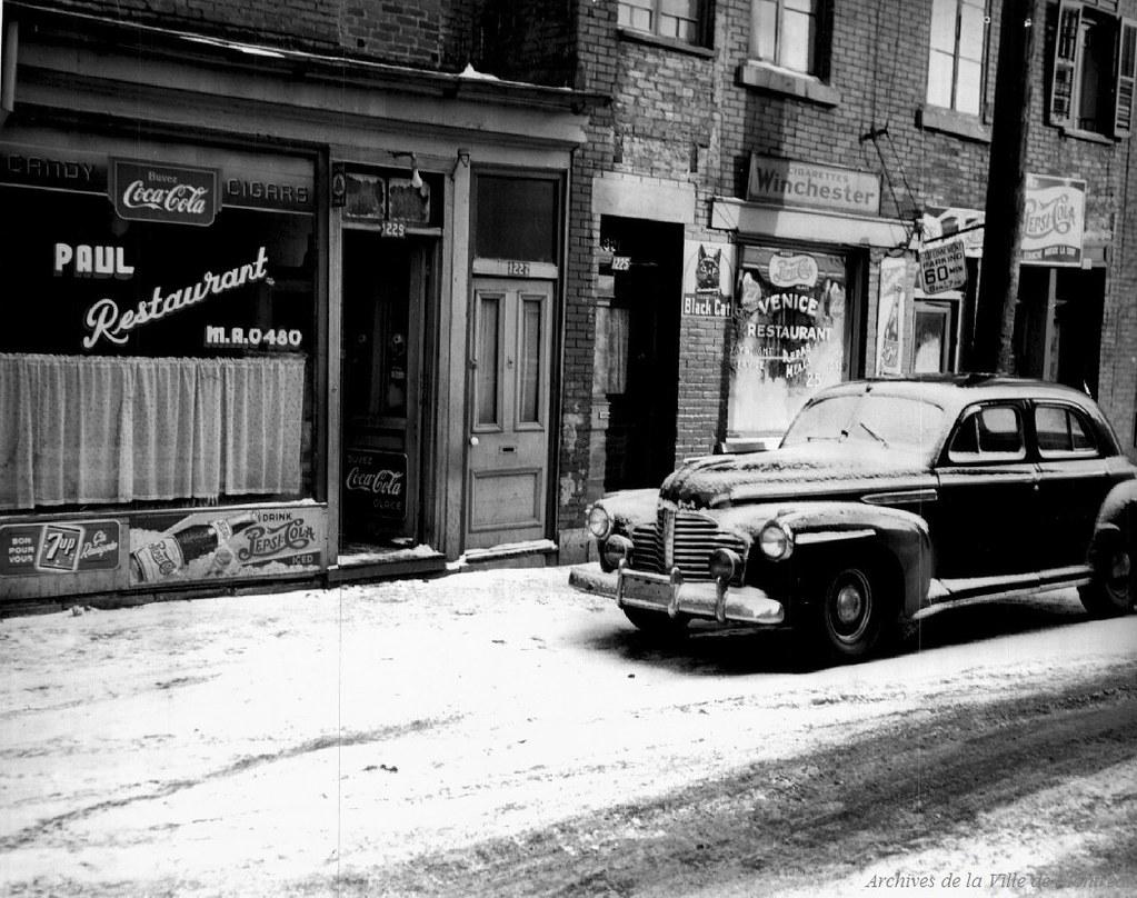 P43 3 2 v03 e0104 maison de jeu rue st dominique années 1940 p43 3 2 v03 e0104