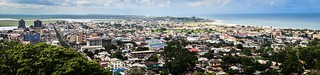 Aerial views of Monrovia, Liberia | by jbdodane
