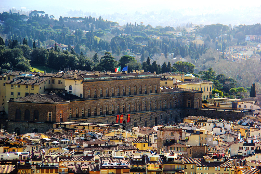 Palazzo Pitti (Pitti Palace) - Florence, Italy   The Pitti ...