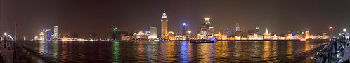The Bund, As seen from Pudong | by jesse