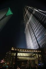 Shanghai World Financial Center and Jin Mao Tower