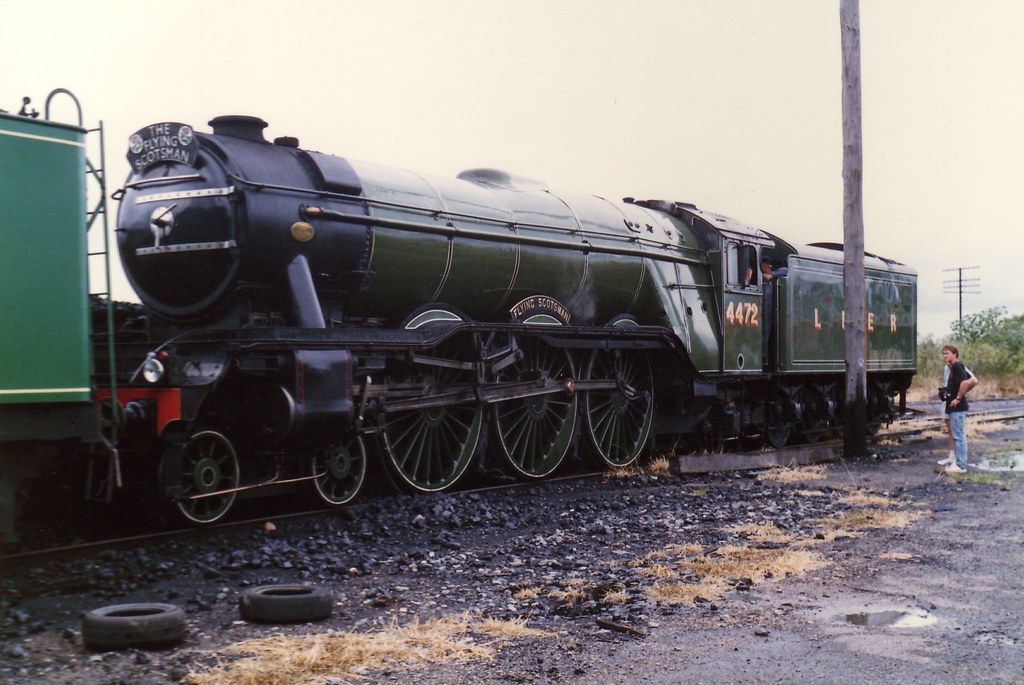 Flying Scotsman Steamfest 1989 1 by LC1073