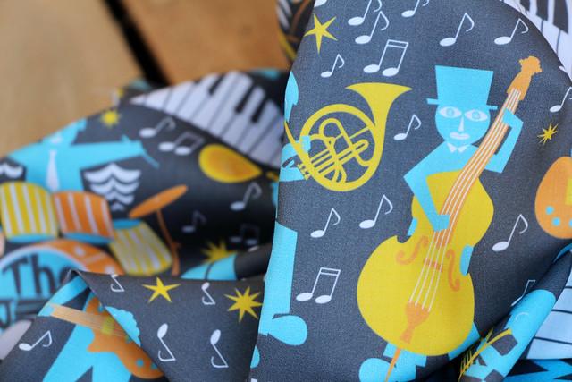 History of Jazz Design Challenge Top Ten Winner: Moonlight Jazzers by christinewitte