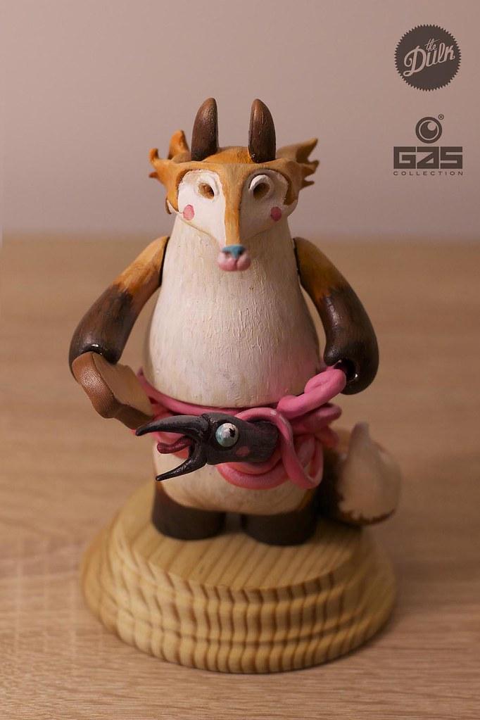 fox&crow toy