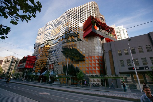 RMIT Swanston Academic Building street front, Melbourne | by Joe Lewit