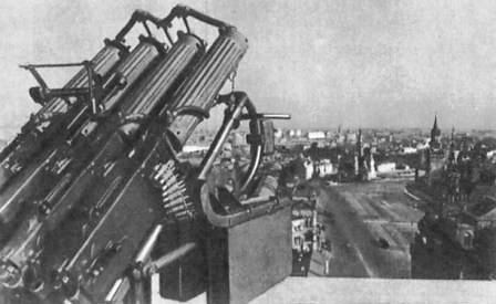Defensas antiaéreas en Moscú (1941)