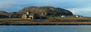 Iona Abbey and Dun I   by portengaround