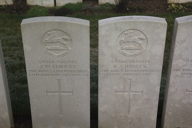Brothers killed on the same Day WW1.