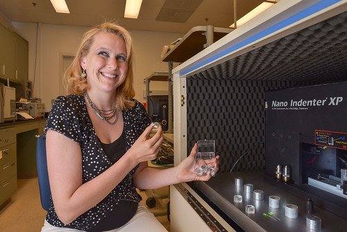 PECASE recipient Melissa Teague | by SandiaLabs