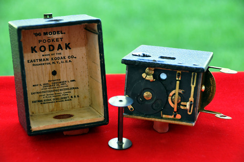 1896-1900 POCKET KODAK (Model 96). Interiores | by Coleccionando Camaras