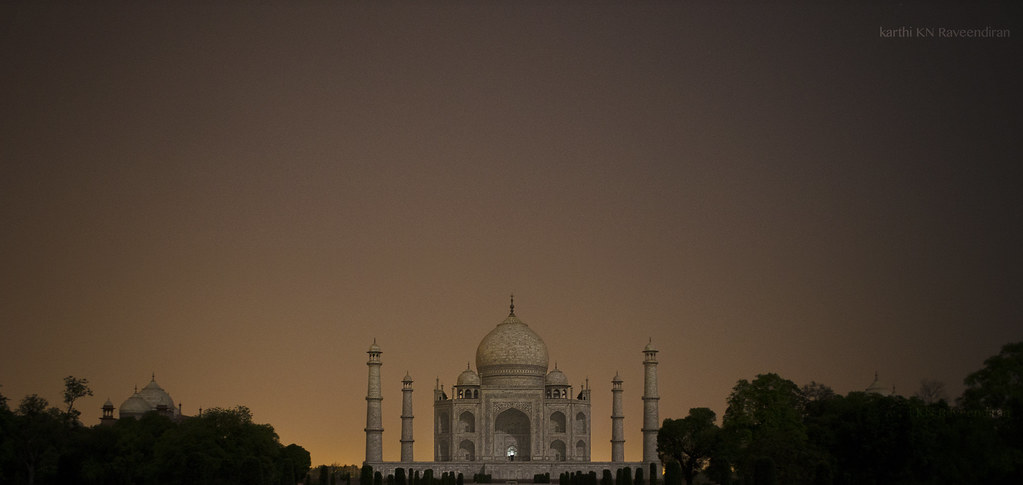 Tajmahal at Night