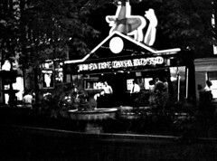 Amsterdam Holland Red-light District Theatre Casa Rosso B&W July 1995 103