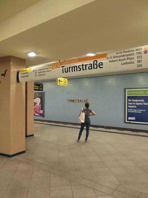 Berlin - U-Bahnhof Turmstraße