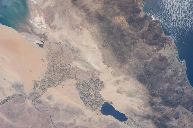 Salton Trough, Southern California (NASA, International Space Station, 06/21/13)