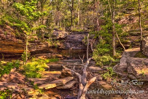 forest waterfall hiking trail arkansas van buren fairfieldbay ffb indianfalls