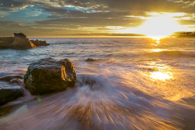 Shining waves