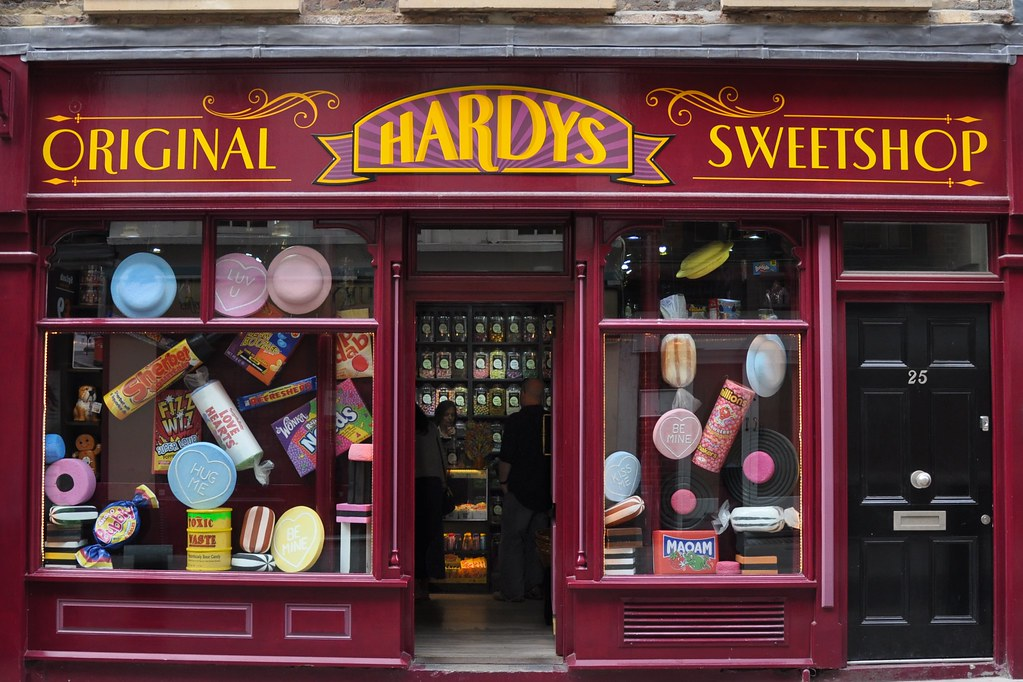 Hardys Original Sweetshop at covent garden london