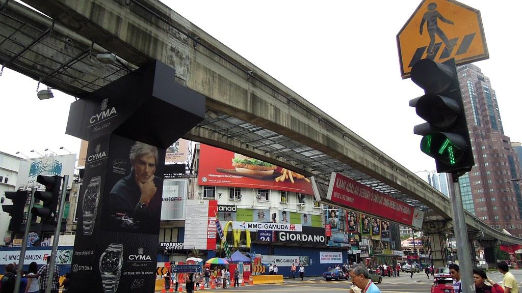KL Monorail, Bukit Bintang, Kuala Lumpur