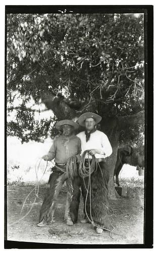 Portrait Of Housto And Bayard Thayer Rancho Santa Anita
