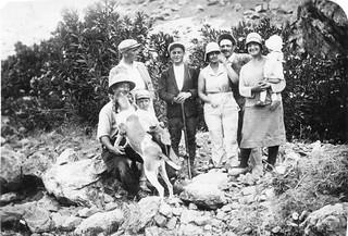 Maroc, Partie de pêche fin 1929 -  Morocco fishing trip